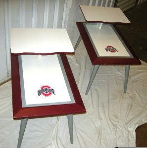 Ohio State End Tables