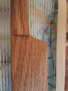 Closeup Oak Knife