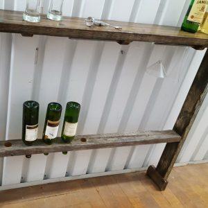 Rustic skinny bar