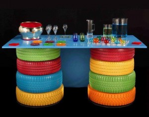 Recycled-Tires-Table