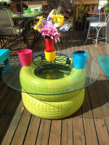 diy-outdoor-projects-madcapfrenzys-colorful-diy-outdoor-deck-seating-benches-makeover-with-tire-table-768x1024