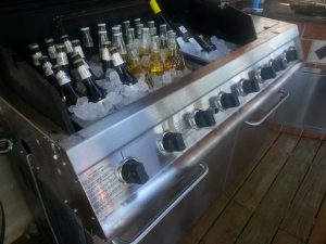 Grill to cooler