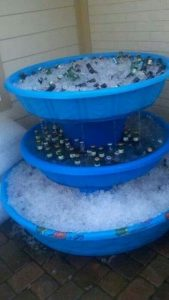 Kiddie Pool Beer Cooler